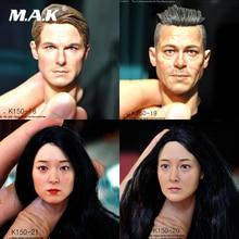 KUMIK 1/6 K150-18 K150-19 K150-20 K150-21 Tom Cruise Brad Pitt Head Sculpt for 12