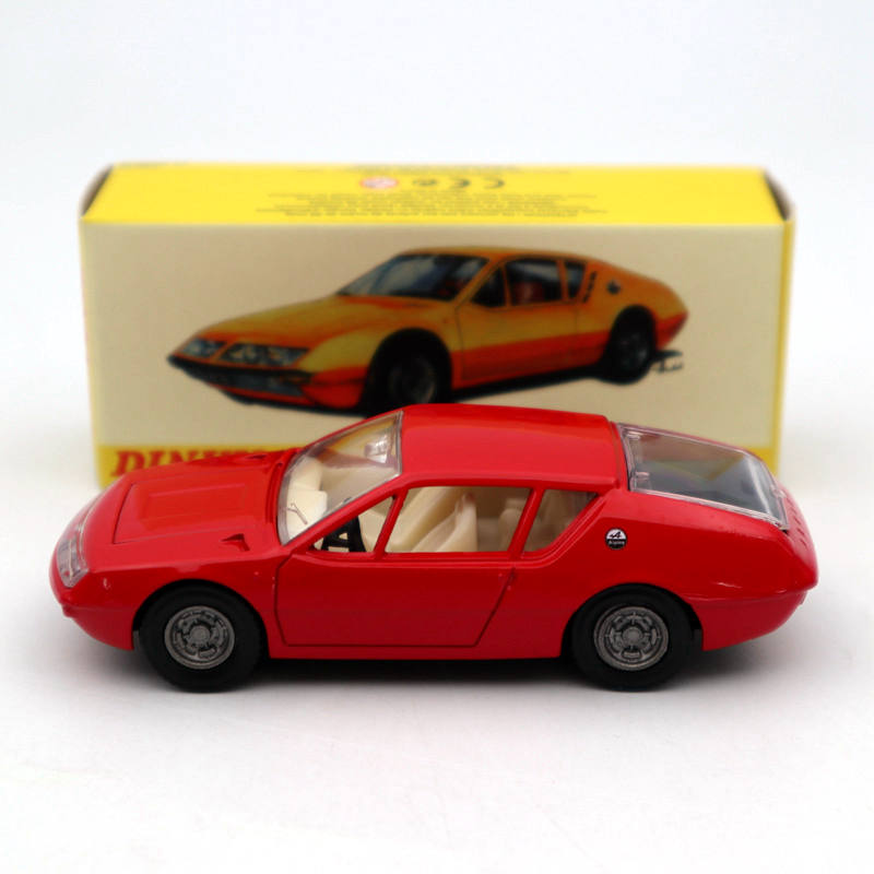 Atlas 1/43 Dinky Toys 1411 ALPINE RENAULT A310 Red Diecast Models Collection Gift Car