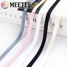 10/21/44M 6 мм нейлон резинки бюстгальтер плечевой ремень для нижнего белья пояс лента кружевной отделкой DIY аксессуары для пошива одежды EB041