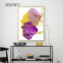 Nordic Canvas Wall Painting Picture Abstract Modern Printing Posters Pictures for Living Room  Decor DJ595