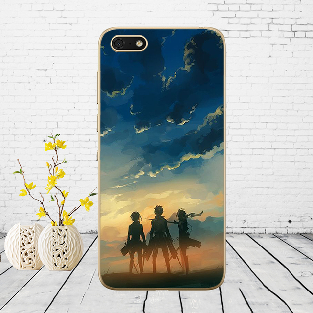 Attack On Titan Soft Cover Case for Huawei honor Models