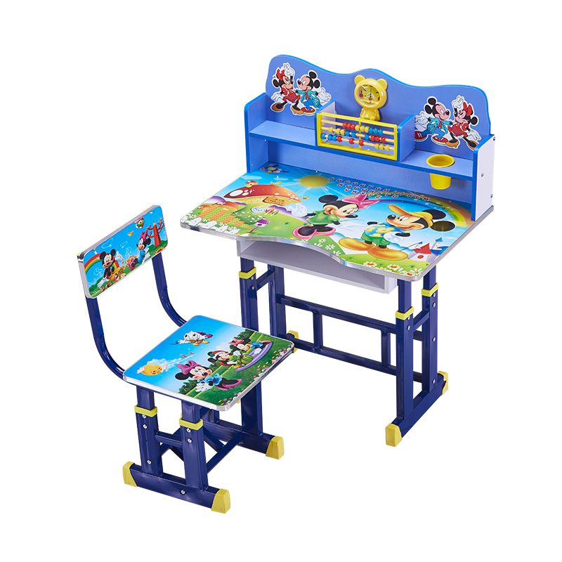 Learning Desk Children's Desk Bookcase Simple Combination Of Boys And Girls Home Primary School Desk Desks And Chairs