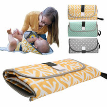 Waterproof Diaper Changing Pads Mat 3-in-1 Baby Changing Mat