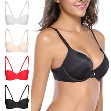 Womens Push Up Everyday Bra, Underwire Seamless Padded Bra, Basic T-Shirt Bra valmont molded lift underwire bra 1802