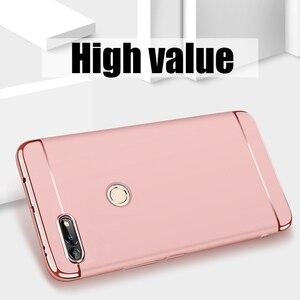 Image 4 - יוקרה ציפוי 3 ב 1 טלפון מקרה עבור Huawei Honor 30 20 10 9 8 לייט 8x 10i 20i מחשב קשה כיסוי לכבוד v10 v20 v30 פרו מקרה