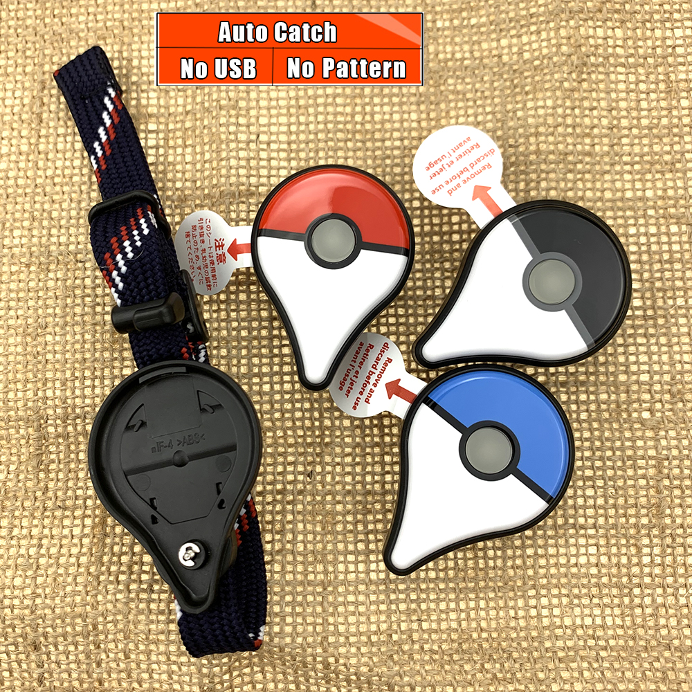 Bracelet Auto-Catch Go-Plus-Device Pokemon Bluetooth Newest-Design Ios/android-Supports title=