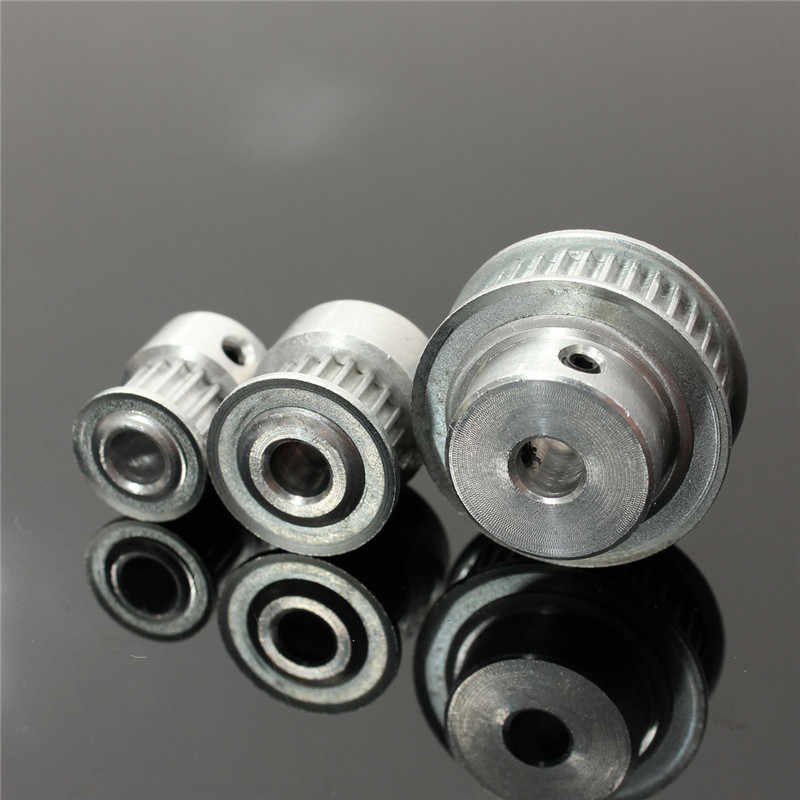 Nieuwe 16/20/36T GT2 Aluminium Timing Katrol Voor 2mm Pitch 6mm Breedte GT2 Timing riem