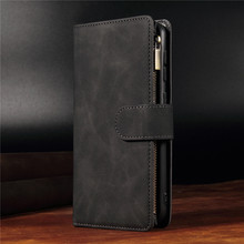 Luxury Leather Flip Case For Samsung Galaxy S20 Ultra Wallet Phone Cover S20 Plus