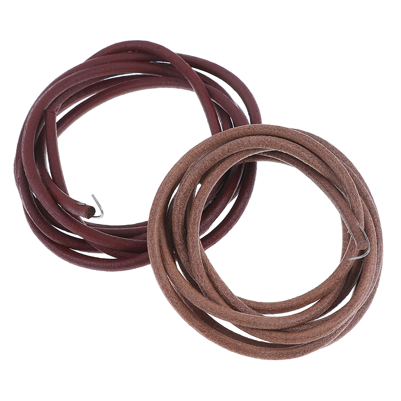 "Leather Belt With Hook For Treadle Singer Sewing Machine 72/"" x 3//16/"""