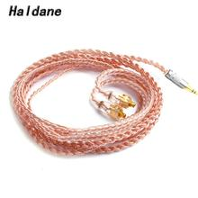 цена на Haldane HIFI 1.2m Single crystal Copper MMCX Earphone Replacement Upgrade Cable For SE846 SE535 SE315 SE215 UE900
