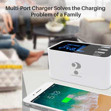 4 port usb adapter wall hub quick charge power socket smart fashion portable travel charger for Samsung Huawei LG Lenovo Xiaomi