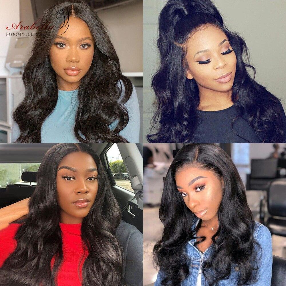 Super Double Drawn Hair   Body Wave Hair Bundles 100%  Arabella Natural Virgin Hair Bundles 6