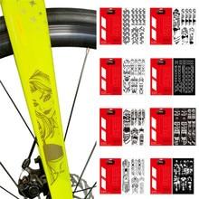 MTB горный велосипед устойчивый к царапинам Рамка протектор съемный стикер дорожный велосипед Pasterun