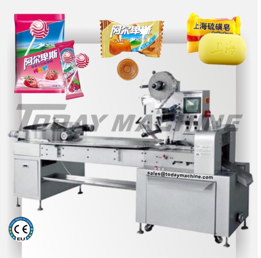 Face Mask Automatic Packing Machine, N95 Respirator Mask Disposable Flow Wrapper 1