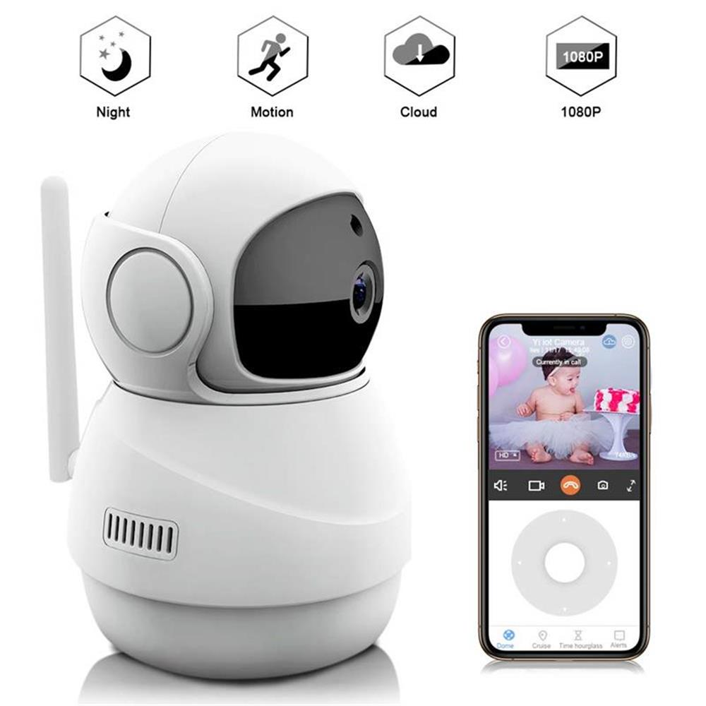Wardmay 1080P Mini Indoor Wireless Security Wifi IP Camera Home CCTV Surveillance Camera Infrared Smart Life Wireless Camera IPC|Surveillance Cameras| |  - title=