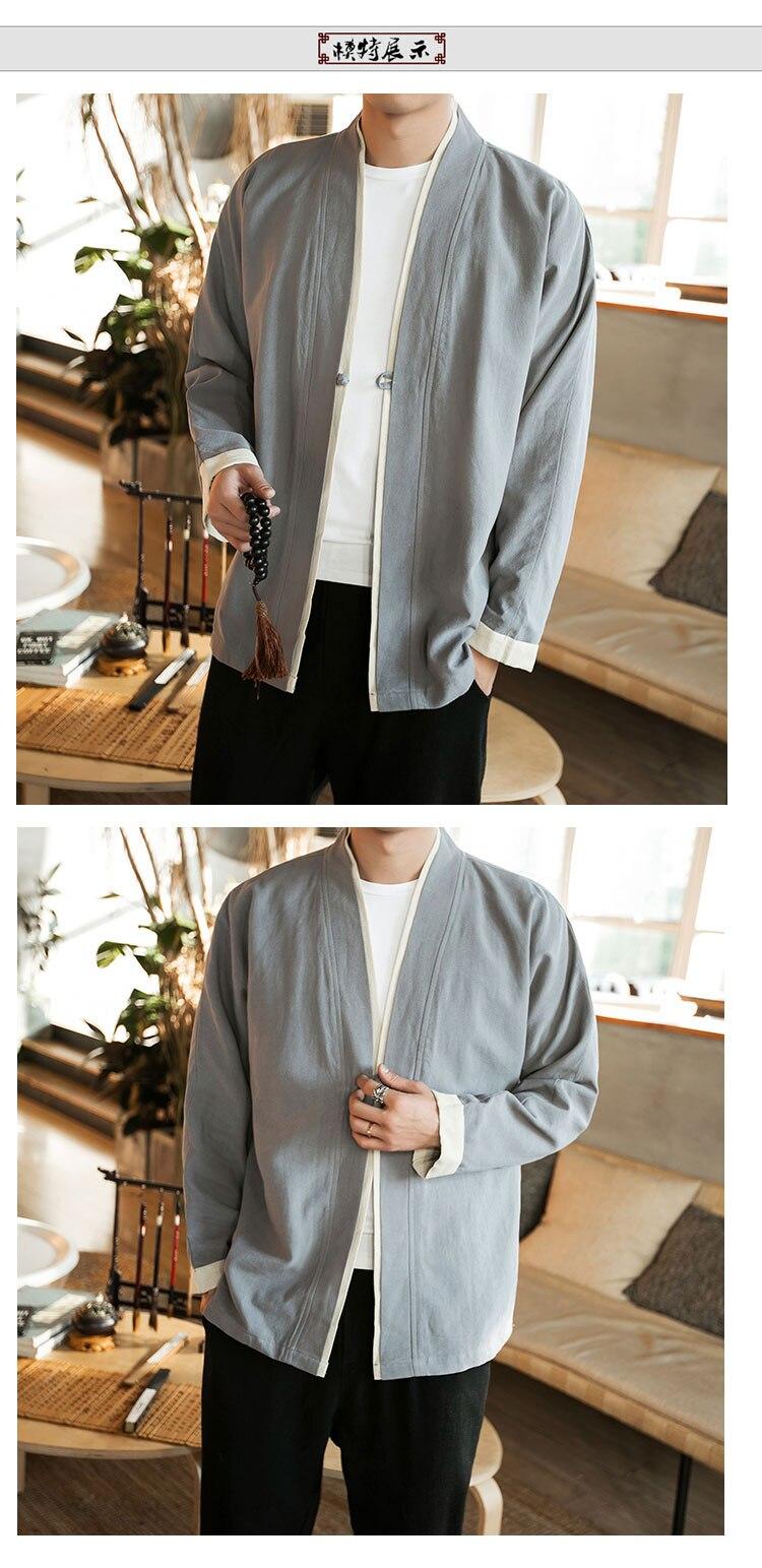 Sinicism Store Men Patchwork Shirt Streetwear Short Sleeve 19 Summer Harajuku Vintage Kimono Shirts Black Fashion Open Stitch 5