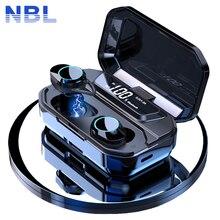 TWS 5,0 Bluetooth 9D Stereo Kopfhörer Drahtlose Kopfhörer IPX7 Wasserdichte Kopfhörer 3300mAh LED Smart Power Bank Telefon Halter
