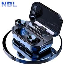 Tws 5.0 블루투스 9d 스테레오 이어폰 무선 이어폰 ipx7 방수 이어폰 3300 mah led 스마트 전원 은행 전화 홀더