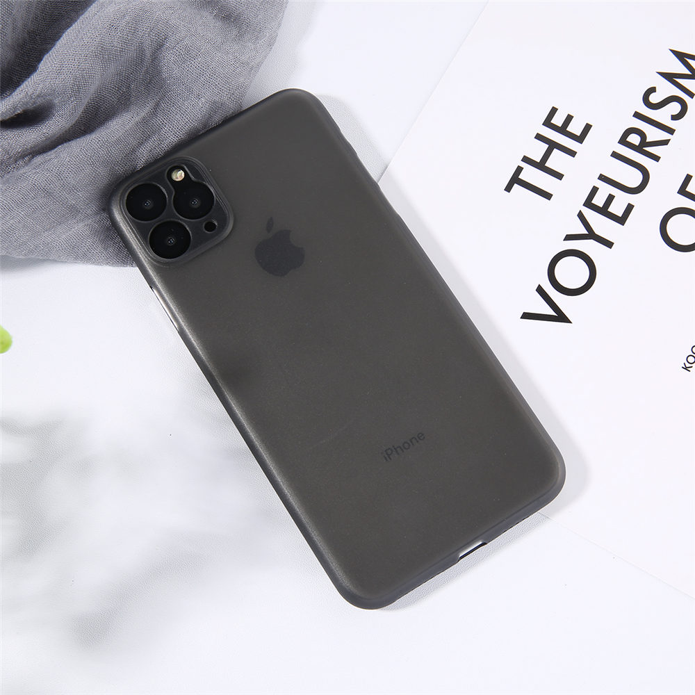 Genuine 0.3Mm Ultra Thin Slim Matte Frost Translucent Case For Iphone 11 PRO X XS MAX XR 5 6 6S 7 8 Plus Protector Cover Shell