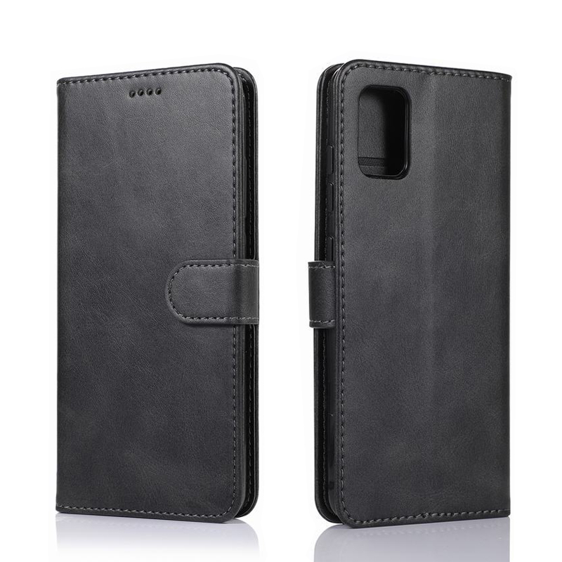Cover Case For Samsung Galaxy A31 M60S M80S Luxury Magnetic Stand Flip Wallet Phone Bag For Samsung S10 Note 10 Lite Plain Coque