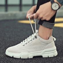 Men's shoes new Korean fashion versatile tooling shoes low top casual men's shoes retro Martin boots