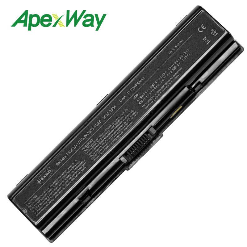 4400mAh Bateria Do Portátil para Toshiba Satellite L455D L500 L500D L505 L505D L550 L550D L555 L555D M200 M205 Pro A200 a210 A300