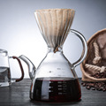 4001092079695 - Gotero de café 800ml V60 herramientas de resina resistentes al calor Barista café elaboración filtro taza de vidrio lavado a mano