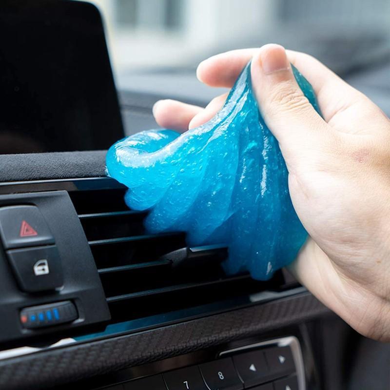 Новинка, 60 мл, коврик для чистки автомобиля, порошковый клей, волшебный очиститель, удаление пыли, гель для домашней чистки клавиатуры компь...