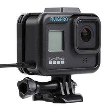 移動プロアクセサリー移動プロヒーロー 8 保護フレームケースビデオカメラ移動プロHero8 黒アクションカメラ
