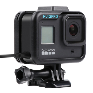 Image 1 - Voor Gopro Accessoires Gopro Hero 8 Beschermende Frame Case Camcorder Behuizing Case Voor Gopro Hero8 Zwart Actie Camera