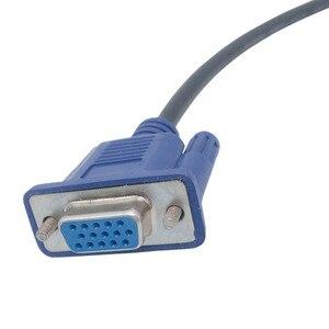 Image 4 - 25cm 0.25m HD15Pin VGA d sub court câble vidéo cordon mâle à mâle M/M mâle à femelle et femelle à femelle câble RGB pour moniteur
