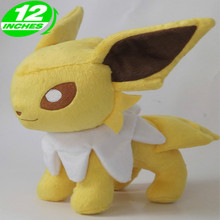 30cm Height Limited Edition Eevee Luma Anime New Plush Doll for Fans Collection Toy Jolteon 30cm height limited edition eevee luma anime new plush doll for fans collection toy celebi