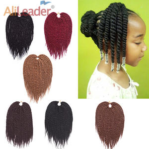 Alileader Twist Crochet Hair Synthetic-Hair-Extension Braids Havana Mambo Hair-22stands/pcs