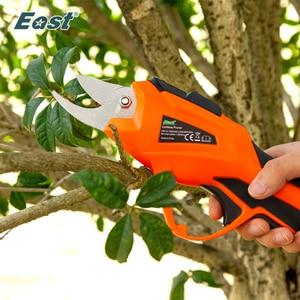 Image 1 - Sécateur électrique de jardin sans fil, sécateur Li ion 3.6V, outil électrique de taille et taille fruits, coupe des branches ET1505