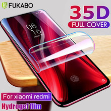 35D Screen Protector Hydrogel Film For Xiaomi Redmi note 8 7 6 5 Pro Protective Film For Redmi 8A 7A 4X K30 K20 Pro Not Glass(China)