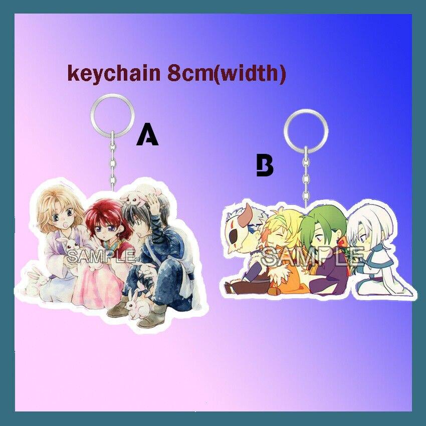 Dual Purpose Acrylic Keychain Strap Stand Anime Akatsuki No Yona Zeno Suoh
