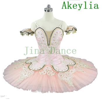 Adult Sleeping Beauty Peach Pink Professional Ballet Tutu Girls Classical Ballet Tutu Professional Adult pancake Tutu Ballet шапка tutu tutu tu006cbeirq1