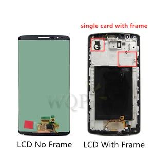 Image 2 - ل LG G3 LCD D850 D851 D855 شاشة الكريستال السائل مع مجموعة المحولات الرقمية لشاشة تعمل بلمس مع الإطار شحن مجاني استبدال إصلاح أجزاء