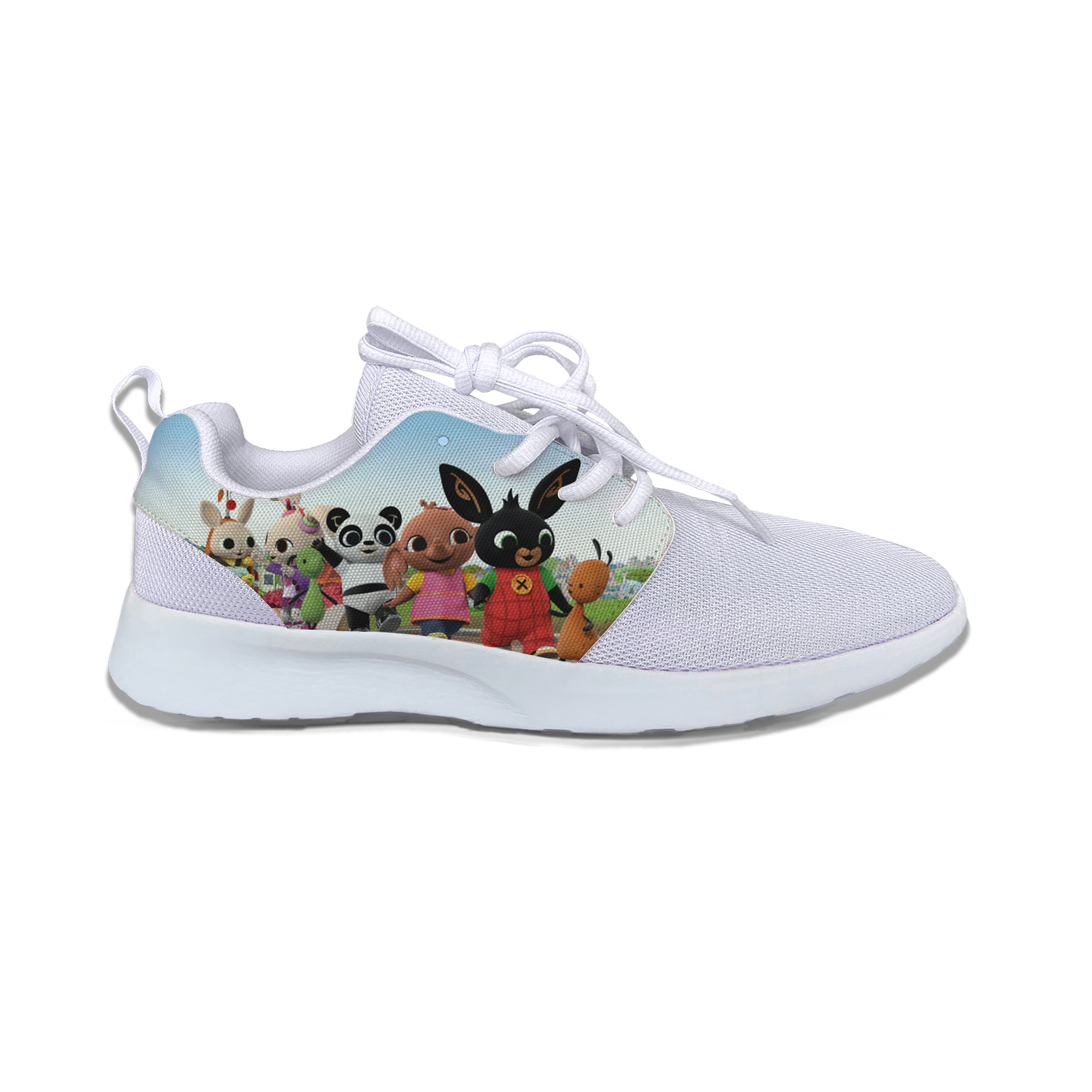 Bing Rabbit Bunny Cartoon Hot Cute Popular Kids Sport Running Shoes Classic Casual Breathable Sneakers Gift Boys Girls Children