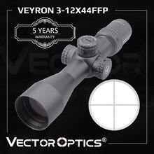 Optyka wektorowa Veyron FFP 3-12x44 Ultra kompaktowy luneta celownicza pierwsza płaszczyzna ogniskowa. 223 7.62 AR15 Air Rifle 1/10 Mil