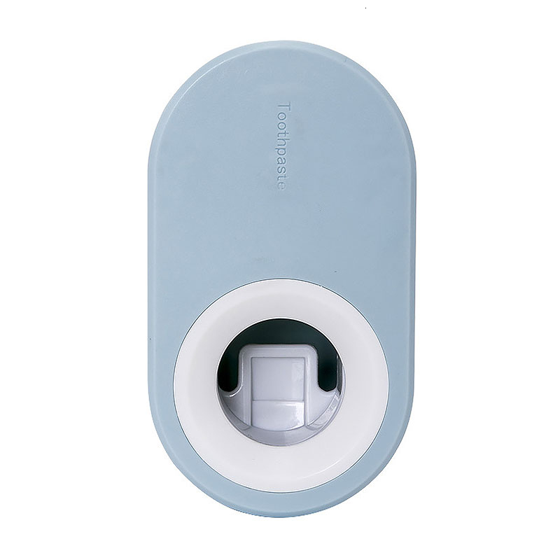 Wall-mounted Automatic Squeeze Toothpaste Holder Device Kitchen Toilet Facial Cleanser Squeezer Toothpaste Storage Rack 5