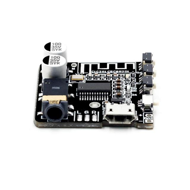 VHM-314 V.20 Bluetooth Audio Receiver board Bluetooth 5.0 mp3 lossless decoder board with Lithium battery charging 2