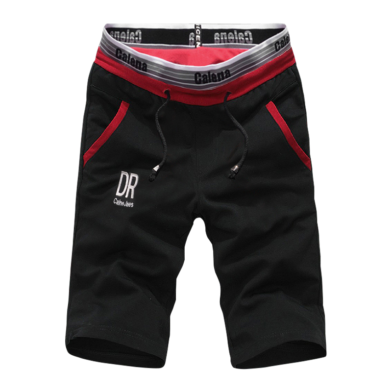 2019 Fashion Shorts For Youth Men Summer Casual Shorts Streetwear Pocket Shorts Solid Color Elastic Waist Drawstring Short Pants
