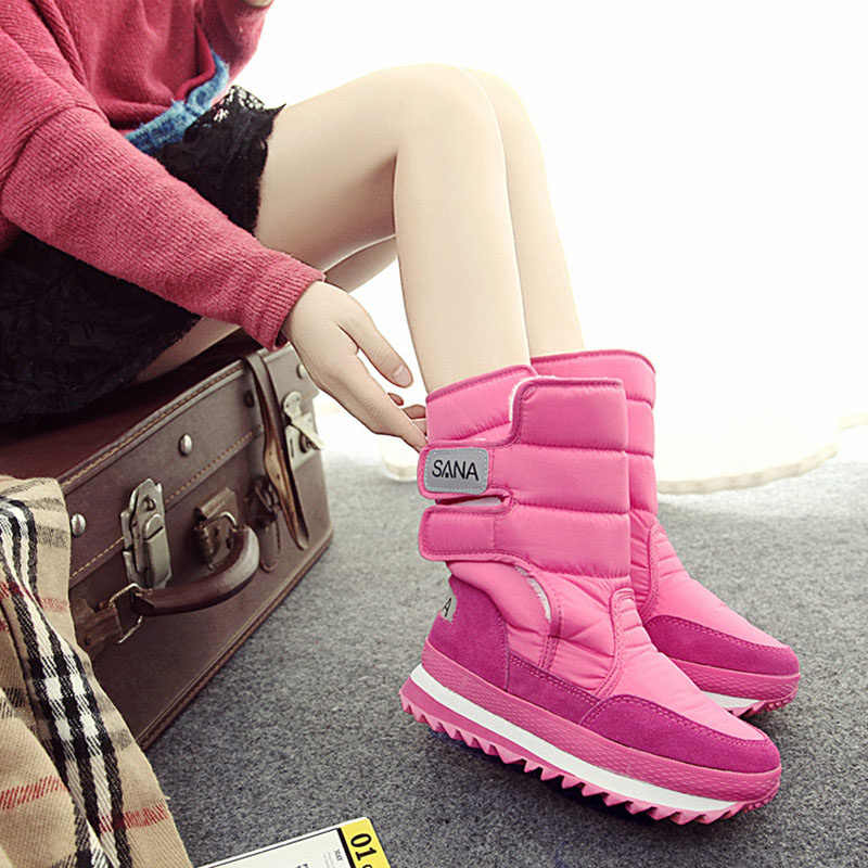 Snowboots Vrouwen Schoenen 2019 Vrouwen Winter Laarzen Vrouwelijke Schoenen Botas Mujer Platform Waterdichte Vrouwen Mode Toevallige Laarzen