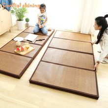 Rattan-Mat Japanese Tatami Bedroom Floor Cordial Thick Shining Child Summer Nap Kindergarten