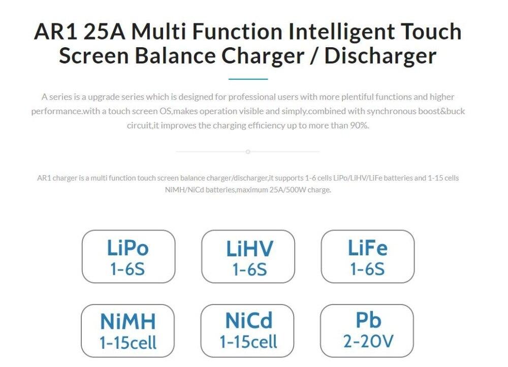 EV-PEAK ar1 25a multi função inteligente touch