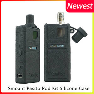 Smoant Vape-Kit-Case Silicone-Case Electronic-Cigarette-Products Protective for Smoant/pasito-Pod-Kit