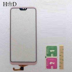 Ekran dotykowy do Huawei P20 Lite Nove 3E ekran dotykowy panel digitizera przednie szkło dotykowe Sesnor 3M chusteczki klejowe