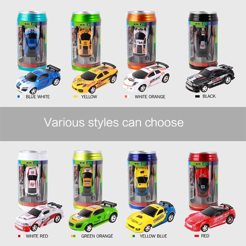 Coches RC de 8 colores, gran oferta, coche Coke Mini RC, Radio de coche a Control remoto, Micro coche de carreras de 4 frecuencias, juguete para niños, regalo para niños TSLM1|Coches con radiocontrol|   - AliExpress