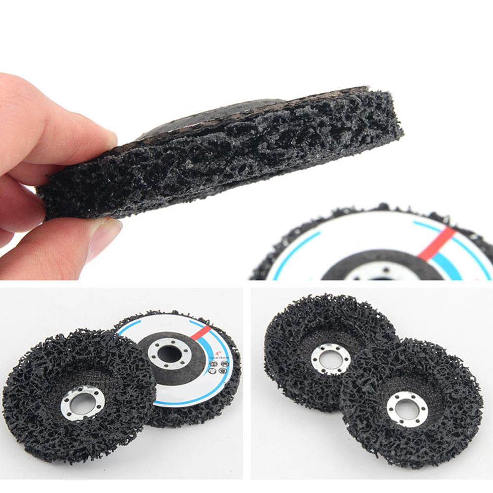 Clean Strip Hook Loop Sanding Disc For Deburring Dressing Paint Removal Remove